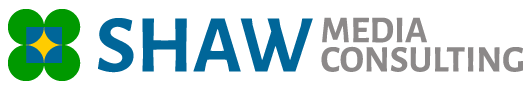 Footer Shaw Media Consulting Clover Logo